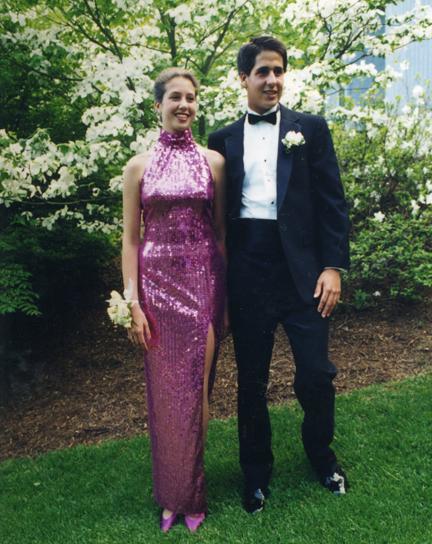 Apr8 pink prom dress