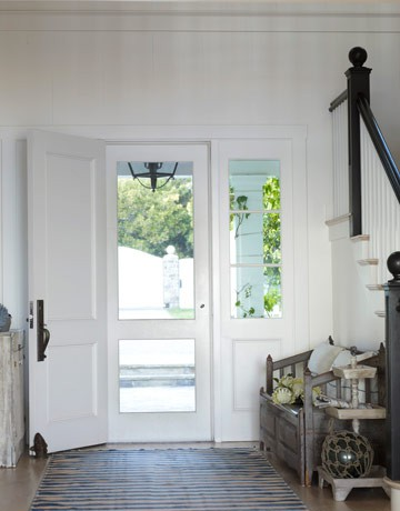 House - screen door