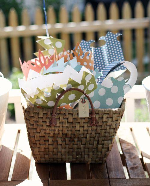 Crown basket