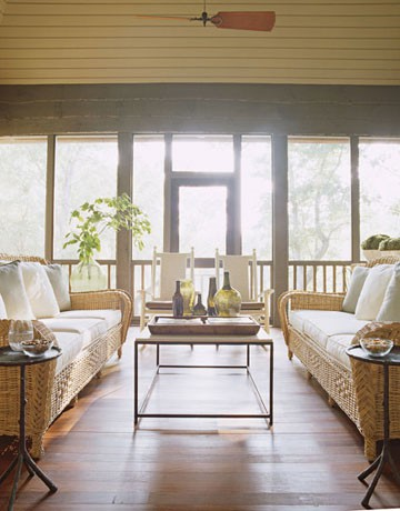 House - screened porch