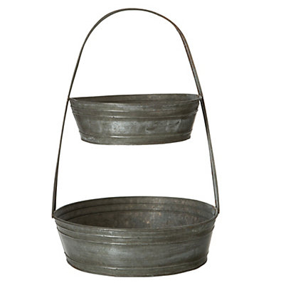 Tin basket