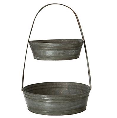Tin basket