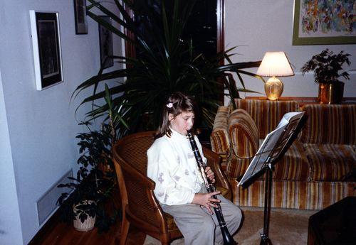 Laura clarinet