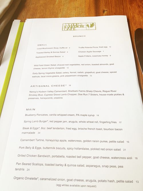 Terrain menu