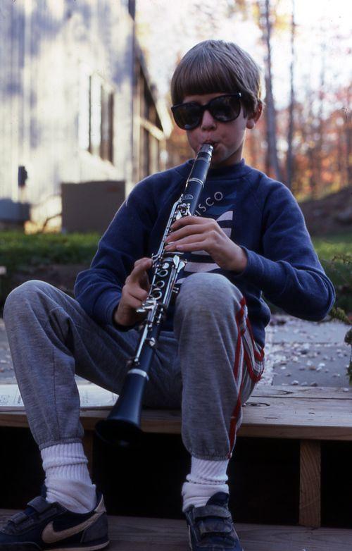 Brendan clarinet