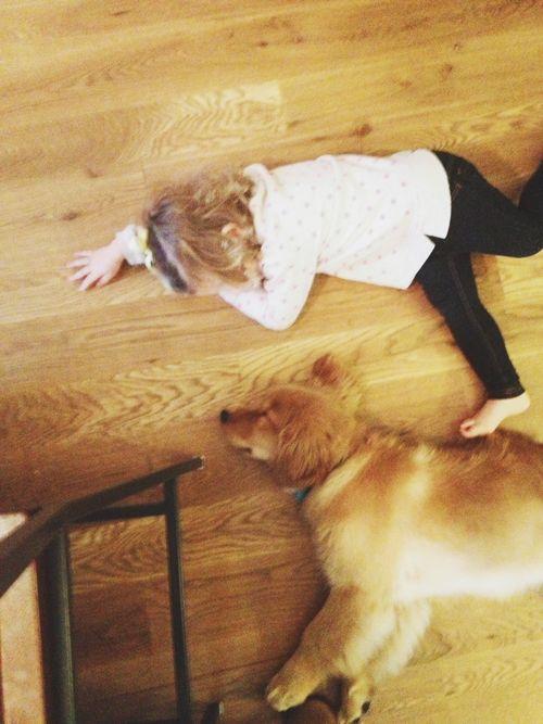 Sleeping on floor