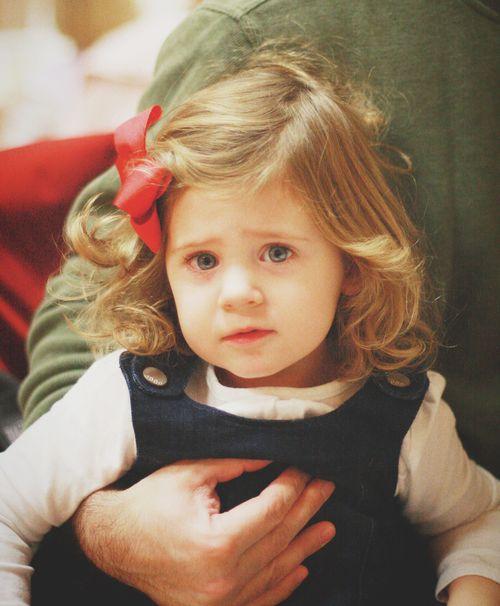 Clara pouting