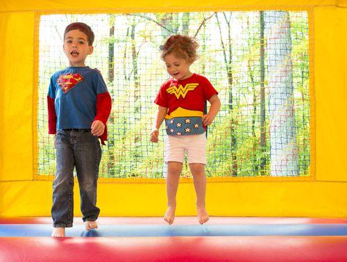 Kids in bouncy 2