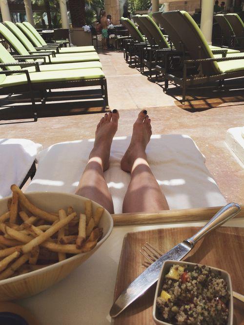 Pool food