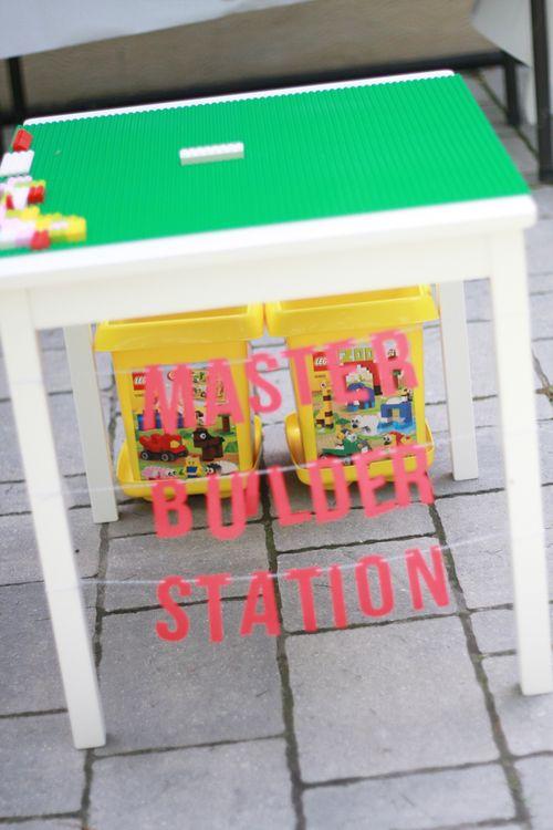 Master builder station