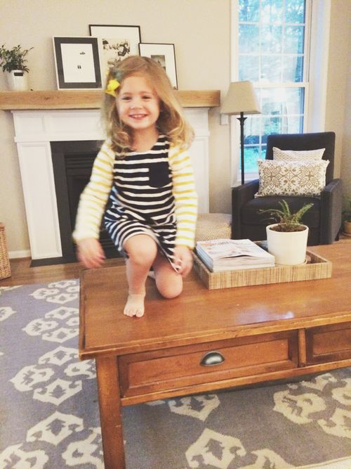Jumping from table