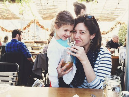 Mommy and clara