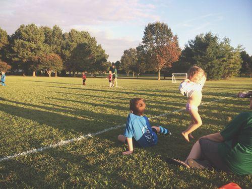 Clara at soccer